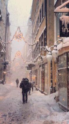 Winter Gamla stan