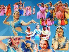 "Bollywood Dance; Aishwarya in her popular Track- ""Nimboda"""