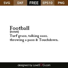 Football saying
