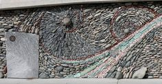 Artist Couple Creates Gorgeous Stone Wall Art Installations (12 pictures)