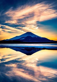 Wonderful Mountains and reflection