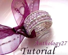 Tutorial  ring with stones and fresh water pearls by anthology27, $10.00