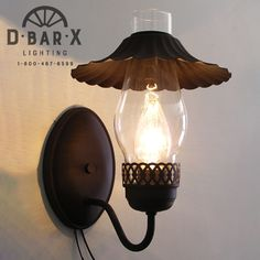 DX807 - Visit D Bar X Lighting to shop: www.dbarxlighting.com Frosted Glass, Clear Glass, Rustic Wall Sconces, Wagon Wheel, Wall Sconce Lighting, Light Fixtures, Wall Lights, Chandelier, Appliques