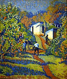 Orchard at Glenaholm Pietermaritzburg, Visit South Africa, Painting, Art, Art Background, Painting Art, Kunst, Paintings, Performing Arts, Painted Canvas
