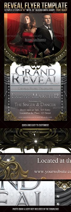 Contemporary Flyer Template Party events, Flyer template and - contemporary flyer