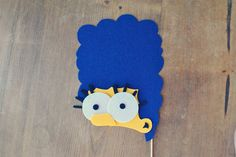 Marge Simpson Photo Prop on a Stick // The by Perfectionate, $16.00