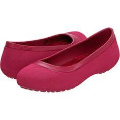 Crocs ballerina flats... who knew?
