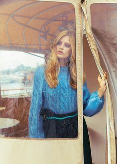 grazia-italia-september-2016 Photography: Thiemo Sander Styled by: Tamara Gianoglio Hair & Makeup: Elena Pivetta Model: Dora Stastna