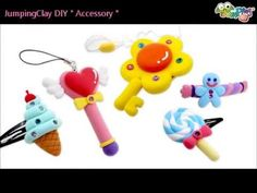 Jumping Clay Tutorial - Ice Cream Hairpin