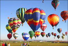 festival de globos aerostáticos.