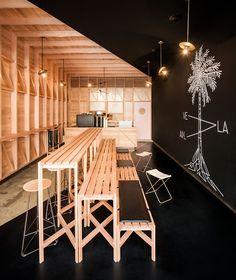 Studio Gram / Abbots-+-Kinney-coffee and pastry shop in Adelaide - Australia /