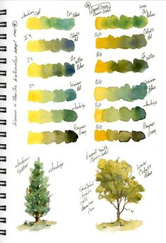 sbwatercolors and sketching: Stillman & Birn Beta Journal New Pages Aquarell und Skizzieren: Stillman & Birn Beta Journal New Pages Watercolor Mixing, Watercolor Journal, Watercolor Tips, Watercolour Tutorials, Watercolor Landscape, Watercolor Flowers, Painting Flowers, Watercolor Pencils, Watercolor Background