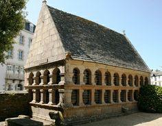 Ossuary, Notre-dame-de-Croaz-Batz-de-Roscoff, Finistere, Brittany