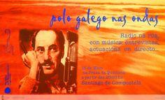 [Mocidade pola Normalización Lingüística e Asociación de Músicos en Lingua Galega, 2000] Dublin, Polo, Movie Posters, Santiago De Compostela, Waves, Poster, Musica, Polos, Film Poster