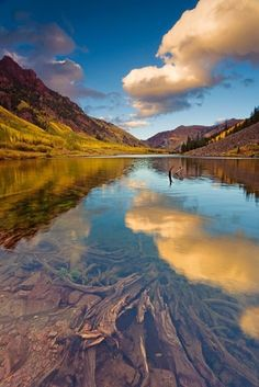 MAROON BELLS-SNOWMASS WILDERNESS, COLORADO