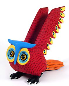 ⇢|| http://web.archive.org/web/20080511210919/http:/www.oaxacafinecarvings.com/woodcarvings2/luispabloowl.htm ⇢|| owl wood carving ⇢|| Luis Pablo