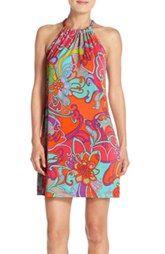 Trina Turk 'Juju' Print Jersey Shift Dress