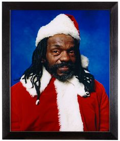 "ANDRES SERRANO, ""The Interpretation of Dreams (Black Santa)"", 2001."