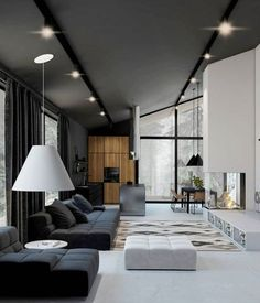 These 10 minimalist living room decor ideas will inspire you to clear the clutter and make your living space classic, clean and even more homely! Interior Design Examples, Interior Design Career, Interior Design Minimalist, Minimalist Room, Interior Design Inspiration, Interior Design Living Room, Living Room Designs, Living Rooms, Room Interior