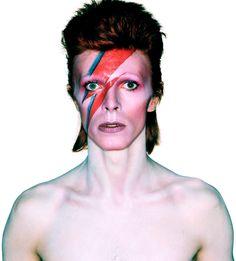 We heart #DavidBowie - perfect retro fancy dress costume - Bowie circa 1973!