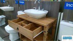 armario de madeira para banheiro moveis planejados