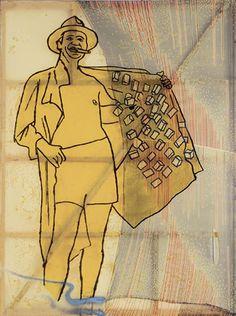 Sigmar Polke (1941-2010) Gangster, 1988