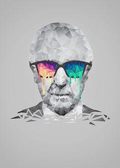 9428264d2 Albert Hofmann - Psychedelic P... by Philipp Rietz | metal posters
