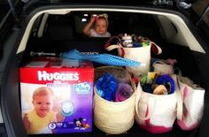 Road tripping with your baby for Labor Day?  We recommend stocking up on a great value, the new Huggies Little Movers Plus Diapers,  available only at Costco. Plus, a pre-road trip Costco stop means we will also never run out of pita chips and black licorice, either. #sponsored