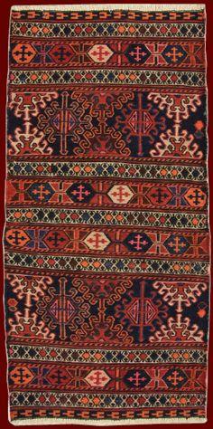 Old Shahsavan Mafrashcm 85 x 42