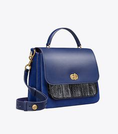 8d24b99acec6 TORY BURCH HALF-MOON SATCHEL.  toryburch  bags  shoulder bags  hand ...
