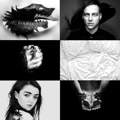 """""""There is only one God. A girl knows his name. And all men know his gift."""" (c)    Jaqen H'ghar x Arya Stark modern au"""