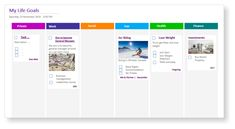 KanBan Task Board - Visualize your Tasks, To-Do's and Projects in OneNote - Templates for OneNote by Auscomp.com Onenote Template, Leadership Courses, One Note Microsoft, Go Skiing, 23 November, Fun At Work, Life Goals, Losing Me, Finance