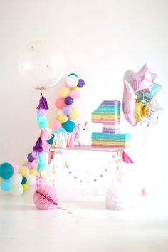Pastel Unicorn Birthday Party on Kara's Party Ideas   KarasPartyIdeas.com (10)