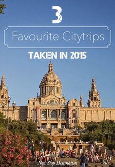 My 3 Favourite Citytrips Taken in 2015 - Non Stop Destination (scheduled via http://www.tailwindapp.com?utm_source=pinterest&utm_medium=twpin&utm_content=post20621380&utm_campaign=scheduler_attribution)
