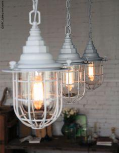 Industrial Style Pendant Lighting Wrought Iron Vintage Pendant Lamp American Rural Loft Light Bar Creative Edison Hanging Lamp #Affiliate