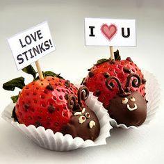 Strawberry ladybug - Valentine's Day
