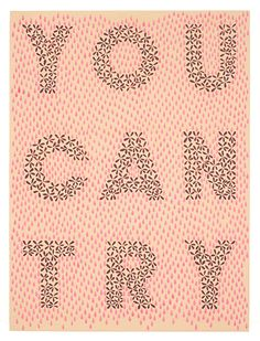 You Can Try by Julia Chiang