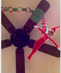 Elf on a shelf Christmas countdown begins!