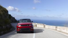 The bold new Range Rover Sport HST is identified by its unique exterior design and interior enhancements, which give the high performance luxury SUV a New Range Rover Sport, Car Posters, Poster Poster, Luxury Suv, Car Photos, Exterior Design, Diesel, World, Sports
