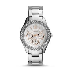 Fossil Stella Multifunction Stainless Steel Watch