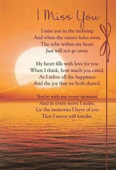 Miss you mommy