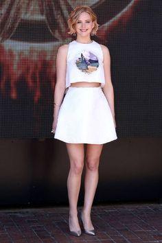 O estilo de Jennifer Lawrence: tudo que você precisa saber - street style - outfits - make up - hair