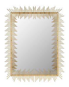 Spotted this Sunray Mirror on Rue La La. Shop (quickly!).