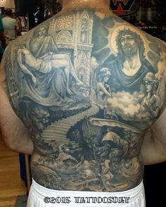 Tattoosday (A Tattoo Blog): Larry's Back (at the NYC Tattoo Convention)  http://tattoosday.blogspot.com/2015/06/larrys-back-at-nyc-tattoo-convention.html