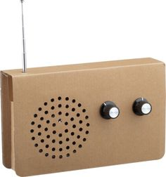 cardboard radio in electronics | CB2