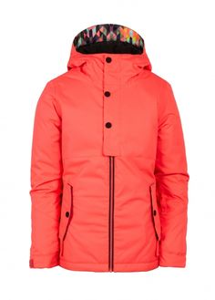 686 Girl's Scarlet Insulated Jacket | 686 Jackets