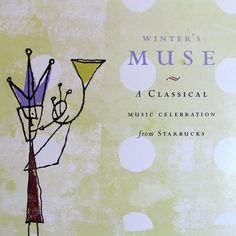 #Starbucks Winters Muse Classical Holiday Christmas Cd 1999 Teleman Bach 16trks #Christmas