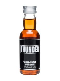 Thunder Toffee + Vodka Spirit Drink