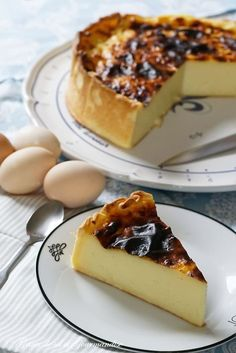 Pastry flan (recipe from C. Felder) - Flan pâtissier (recipe by C. Easy Cheesecake Recipes, Easy Smoothie Recipes, Cupcake Recipes, Healthy Smoothie, Pastry Recipes, Gourmet Recipes, Snack Recipes, Cuban Recipes, Chefs