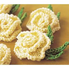 Knitted Cabbage Rose Pattern by Nicky Epstein- great for topping tea cosies.